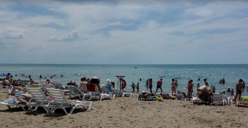 Пляж «Оазис»