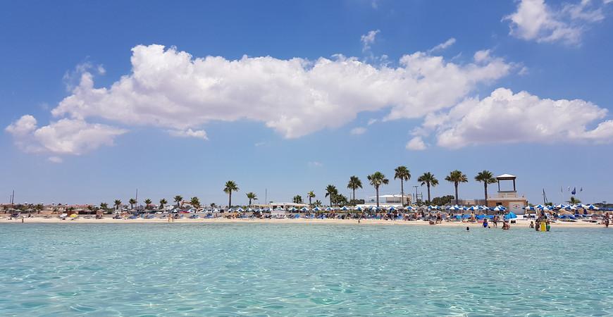 Пляж Айя-Текла (Ayia Thekla Beach)