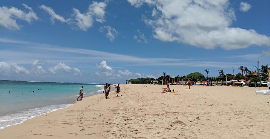 Пляж Нуса Дуа (Nusa Dua Beach)