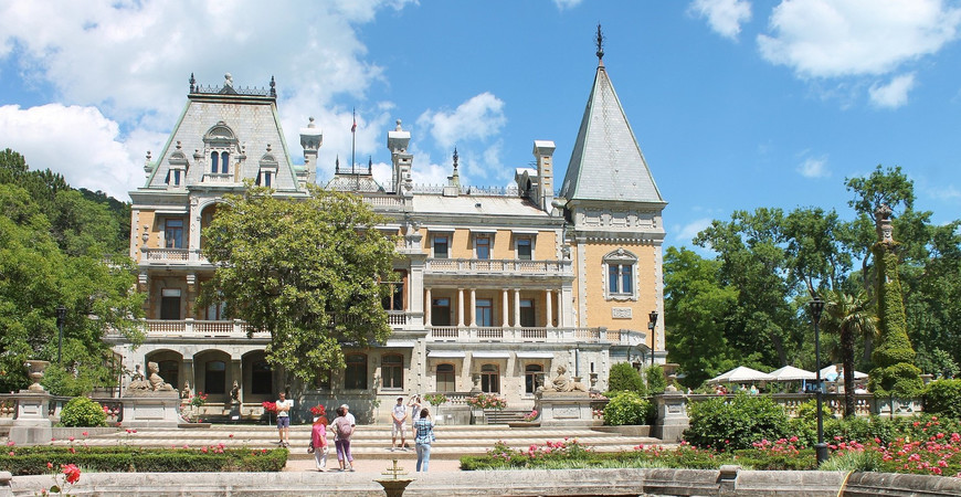 Массандровский дворец Александра III
