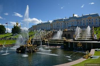Фонтаны в Петергофе заработают 28 апреля