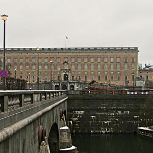 Королевский дворец в Стокгольме (Фин.+Шв. -9)