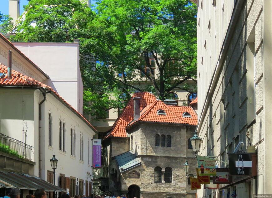 Еврейский квартал в праге на карте