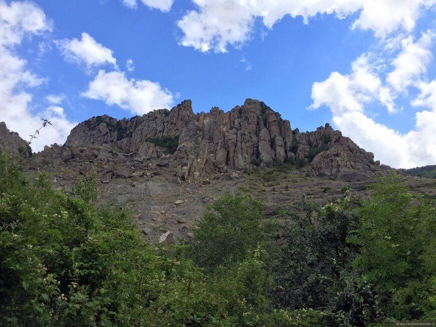 Какие горы в алуште