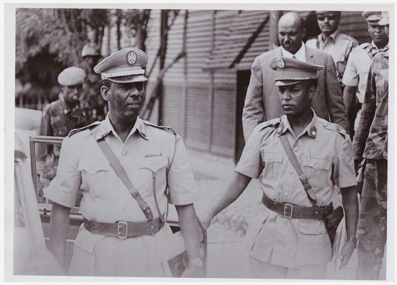 Мохаммед Сиад Барре (на фото слева). Президент Сомали с 1969 по 1991 гг. Фото: virezkipress.ru