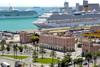 В Барселоне в 2017 году побывали 2.7 миллиона круизных туристов