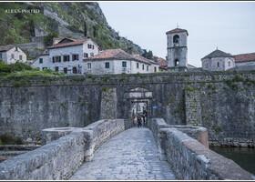 На подходе к Котору (Черногория)