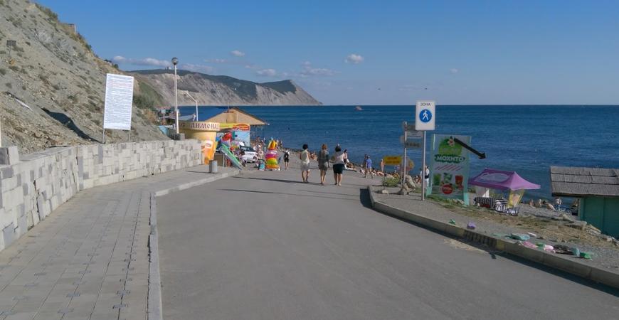 Пляж «40 лет Победы» в Анапе