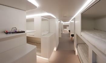В самолётах Airbus появятся спальные места в багажном отсеке