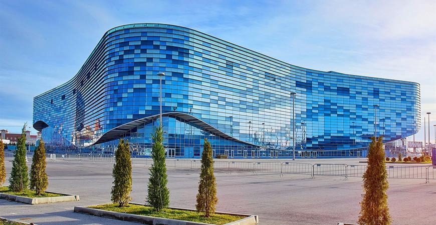 Дворец спорта «Айсберг» в Сочи