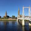 Инвернесс, столицу горной Шотландии, называют городом мостов и церквей