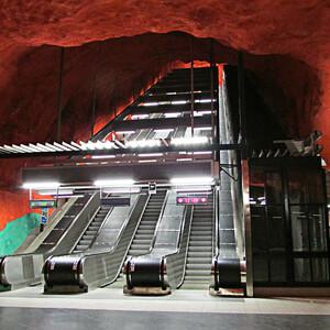 Стокгольм. Подземка (Финляндия+Швеция-14)
