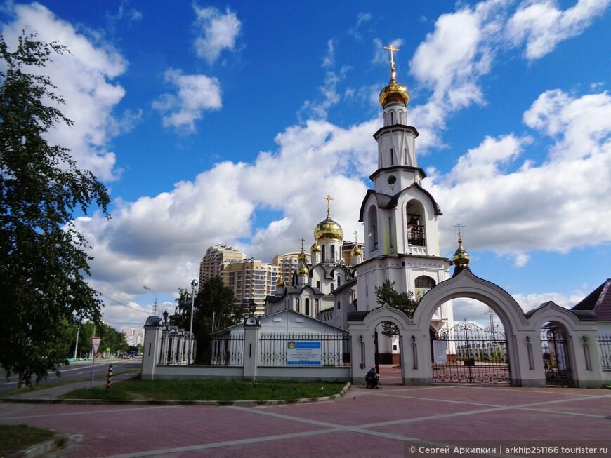 Собор Преображения Господня - самый большой в Сургуте