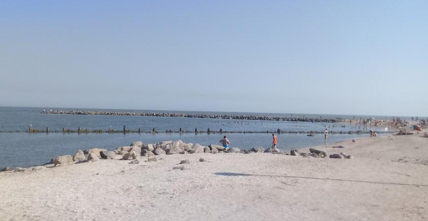 Молодежный пляж Ейска