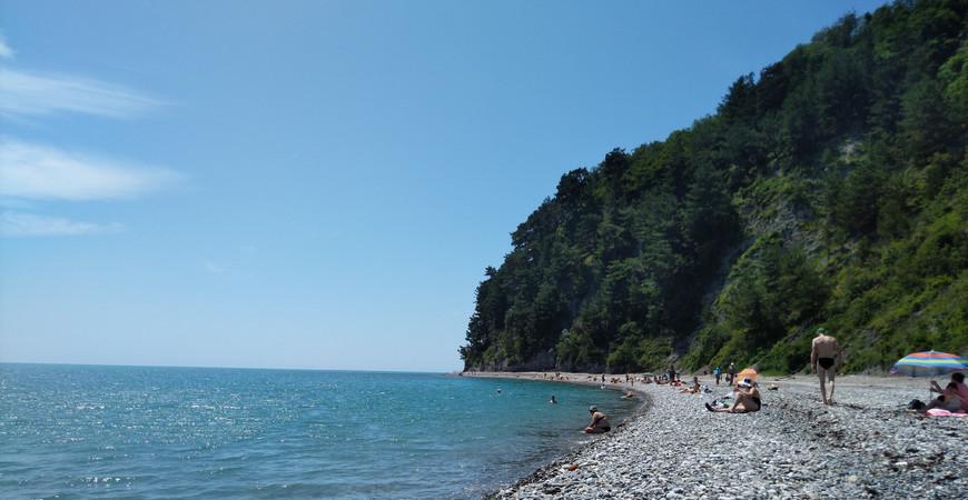 Приморский пляж Туапсе