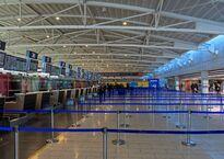 Стойки регистрации в аэропорту Ларнаки