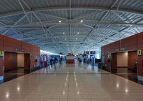 Зона вылетов в аэропорту Ларнаки