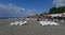 Соседний пляж пансионата «Самшитовая роща»