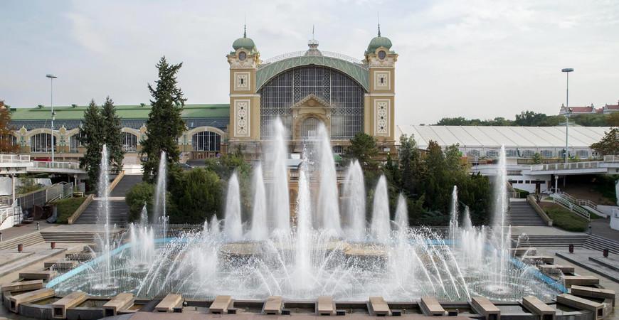 Поющие Кржижиковы фонтаны в Праге