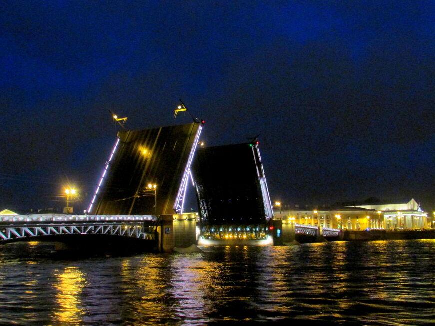 Дворцовый мост в Санкт-Петербурге - Мостотрест