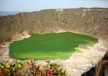 Озеро в Кратере вулкана Чичональ