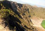 Спуск в кратер вулкана