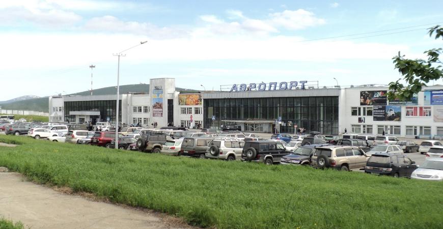 Аэропорт Магадана «Сокол» имени Владимира Высоцкого
