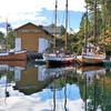 Павильон с лодками Викингов