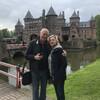 Это чудная пара Лена и Стас в замке де Хаар
