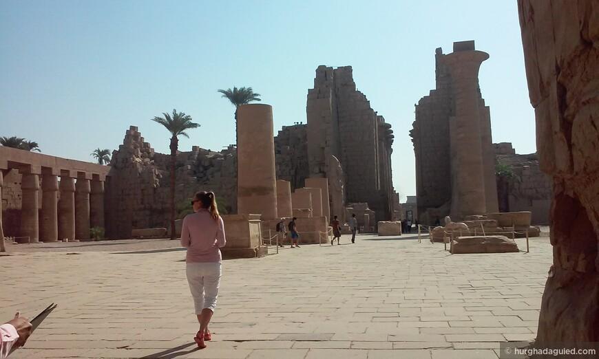 Карнакский храм в Луксоре!