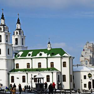Зимние каникулы в Минске. Верхний город