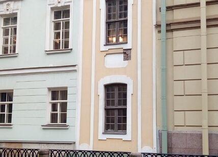 Музеефикация фасада дворца