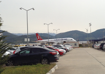 Стоянка в аэропорту Газипаша