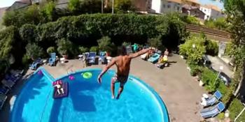 Туристы в Испании придумали новое опасное развлечение