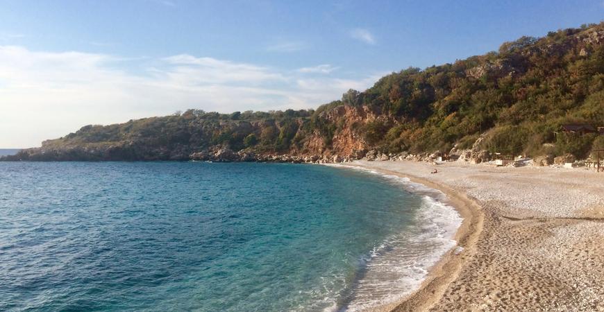 Пляж Дробный Песок (Plaža Drobni Pijesak)