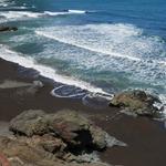 Пляж Praia da Lagoa Porto da Cruz
