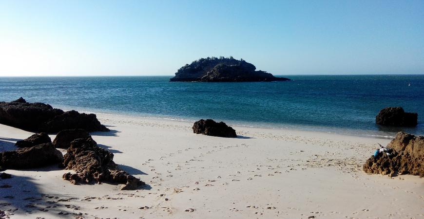 Пляж Portinho da Arrabida