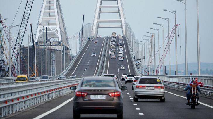 Крымский мост © РИА Новости