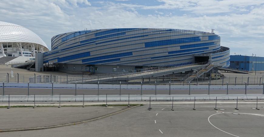 Ледовая арена «Шайба» в Сочи