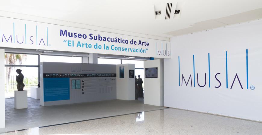 Музей подводных скульптур<br/> в Канкуне