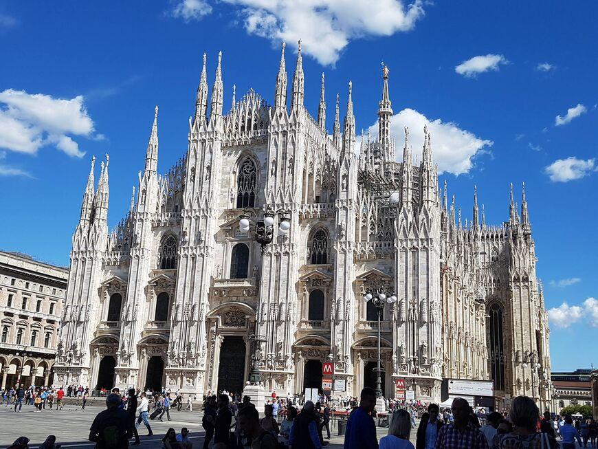 Кафедральный собор Дуомо в Милане
