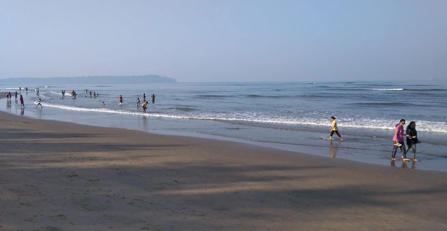 Пляж Мирамар в Гоа