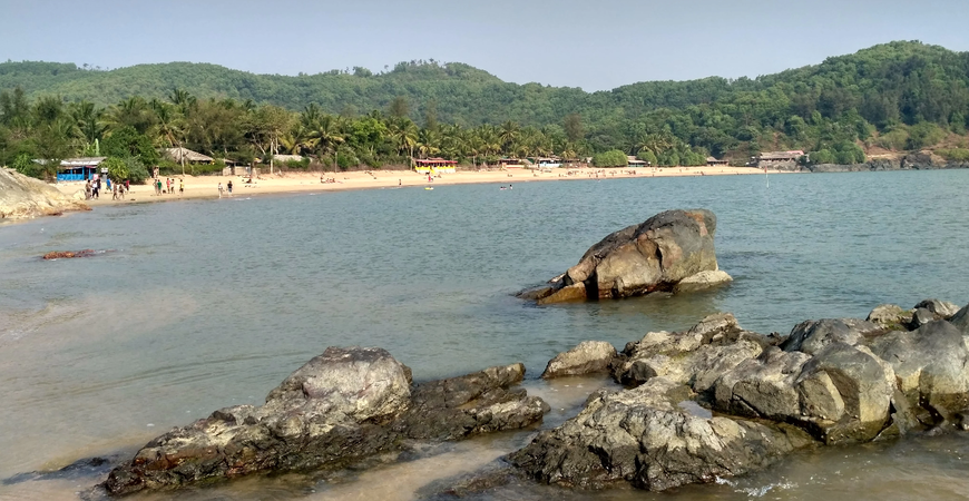 Пляж Ом