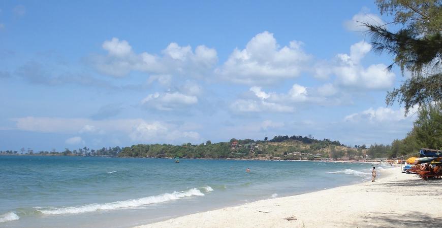 Пляж Окчютеал
