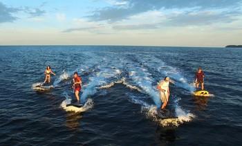 Создана принципиально новая доска для сёрфинга