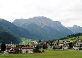 Наш путь пролегает в одном из самых красивых регионов Швейцарии - Валь-Мюстайр.