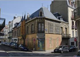 Дом, где был рожден известный журналист и писатель Альбер Лондр, с которого и начался жанр журналистского расследования.