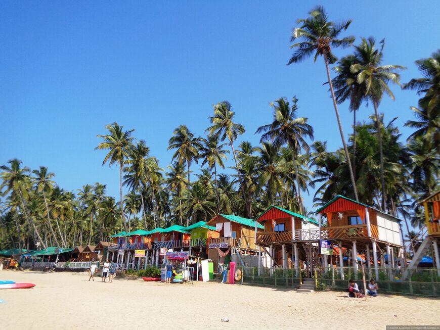 Пляж Палолем  один из лучших в Южном Гоа