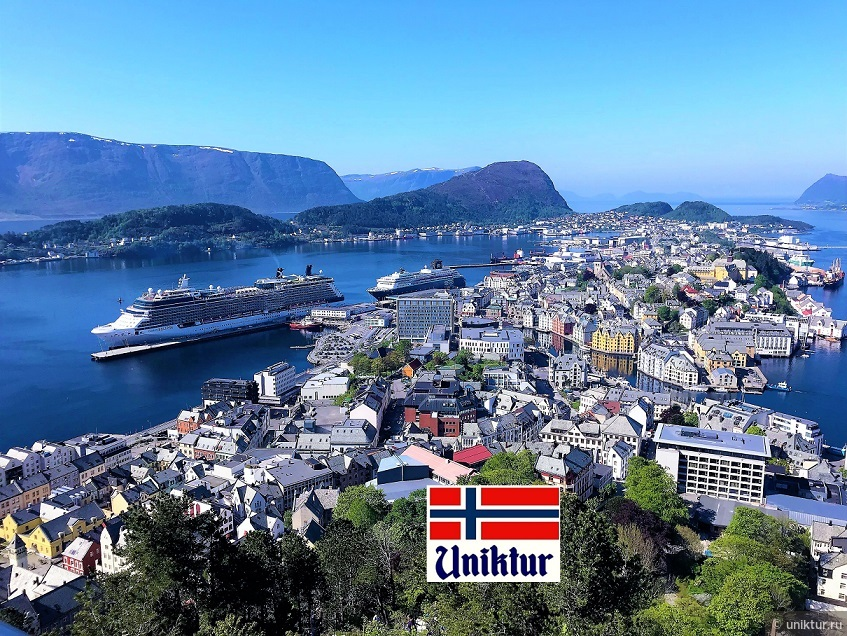 Потопы в норвежских портах