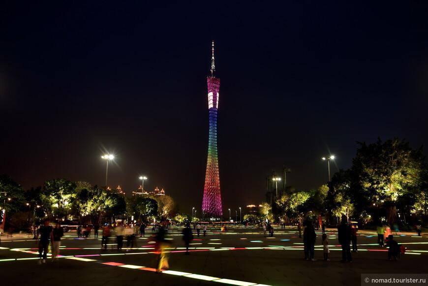 Вечерняя башня с подсветкой вне конкуренции!